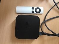 Apple TV 3rd generation. Good condition with remote
