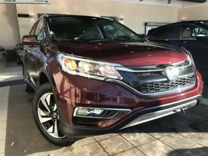 2016 Honda CR-V Touring AWD| Bluetooth| Heated seats| Powermoon