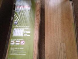 3 packs of oak effect laminate flooring