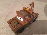 Disney Pixar Cars Large Finn Mc Missile & Tow Mater Car Toy