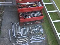 Selection of Spanners & Sockets