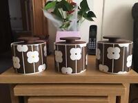 Orla Kiely Abacus storage jars (Rare )