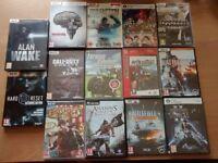 14 Brand New Sealed PC DVD Games plus 15 Bonus Digital Games