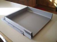 Blum Intrabox steel drawers 500mm wide