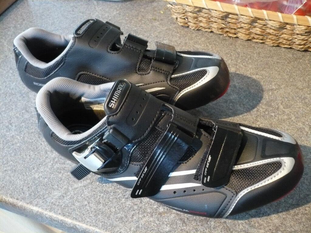 d5363797181 Shimano R088 SPD-SL Road Shoes (eu44) Black+cleats -as new £25ono
