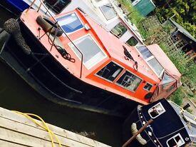 River cruiser ready to go!