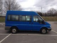 FORD TRANSIT SWB 1998CC 9 SEATER MINIBUS (+DRIVER) MANUAL DIESEL