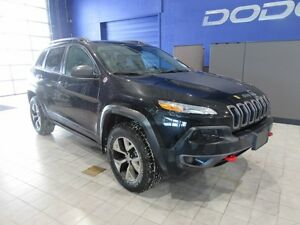2016 Jeep Cherokee TRAILHAWK W/LEATHER,SUNROOF,NAV