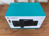 Logitech Speaker System Z333 80Watts with subwoofer