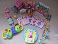 Toddler toy bundle - including peppa pig, Vtech, Lamaze & more