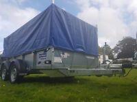 IFOR WILLIAMS TRAILER GD 105 PLANT FARM MACHINE GARDEN MOTO X QUAD CAR MOWER