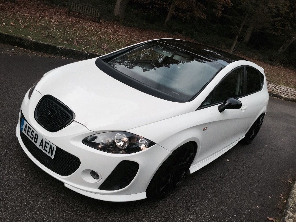 2009 seat leon fr btcc 2 0 white tdi hpi clear low mileage leon btcc leon k1 in sheffield. Black Bedroom Furniture Sets. Home Design Ideas
