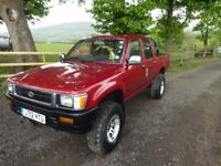 1991 HILUX MARK 3, 3.0CC DIESEL 4 DOOR