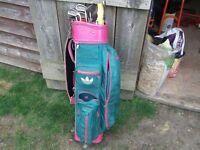 lady golf glubs and bag