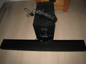 bose 1SR soundbar and wireless subwoofer