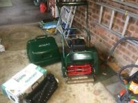 ATCO BALMORAL LAWNMOWER with Scarifier attachment