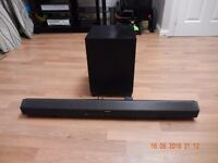 Sony HT-CT260 Virtual Surround Sound Bar with Bluetooth and Wireless Subwoofer