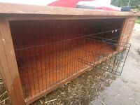 Rabbit hutch one floor used good condition