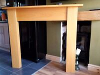Beech Fire Surround (Excellent Condition)