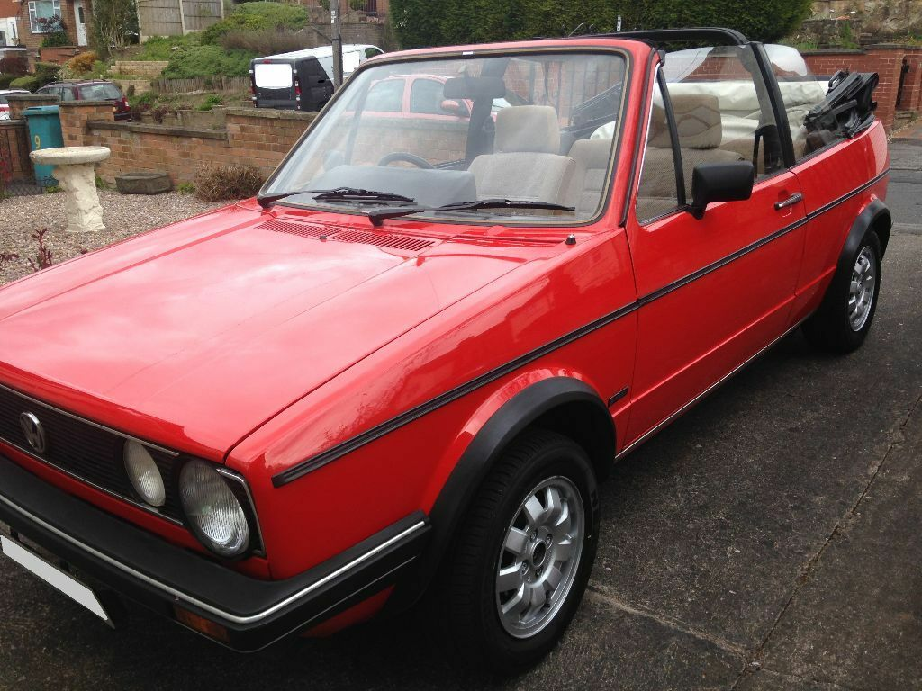vw golf mk1 cabriolet convertible 1985 1 6 gl manual not gti in clifton nottinghamshire. Black Bedroom Furniture Sets. Home Design Ideas
