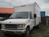 2001 Ford E450 Cube Van- Certified and E-tested