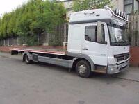 Mercedes Atego 815 Tilt Slide Recovery Truck Lorry Spec Lift Sleeper Cab NO VAT