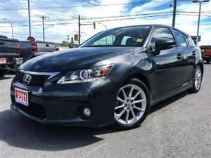 2011 Lexus CT 200h PREMIUM PKG-SUNROOF+LEATHER+MORE!