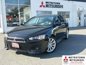 2009 Mitsubishi LANCER SPORTBACK GTS; Local, No accidents