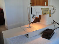Singer 317 Semi-Industrial Heavy Duty Sewing Machine - SEWS LEATHER - Excellent Condition