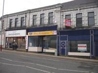 Double fronted retail shop to let Accrington