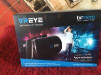 V R eye virtual reality headset