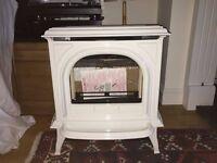 Gazco Stoves - Huntingdon 30 Gas - Ivory Enamel Balanced Flue Fire for sale brand new in box