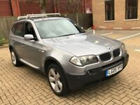 2005 BMW X3 2.5 SPORT PETROL AUTOMATIC PANORAMIC ROOF TOW BAR GREAT DRIVE 5 SEAT N X5 FREELANDER