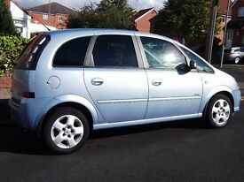 vauxhall meriva 1.7 cdti design low miles,service history,nice clean car