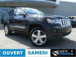 2012 JEEP GRAND CHEROKEE OVERLAND TOIT PANORAMIQUE