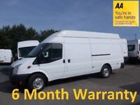 Ford Transit JUMBO 350 2.4 TDCi 155 EL LWB H/Roof … (2012)***ONLY 81k MILES***DIRECT from LEASE Co**