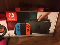 Nintendo Switch w/ Games and Accessories for sale