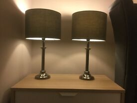 Candlestick Lamps X 2