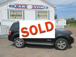 2008 Ford Escape Limited 3.0L!! AWD!! LOADED!! HEATED LEATHER!!
