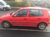 RED VW Polo R reg