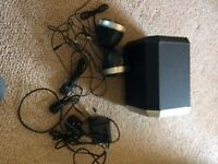Philips PC400 laptop/PC 2.1 speakers in very good condition great sound