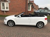 2009 AUDI A3 S LINE 1.6 CONVERTIBLE - NEW CLUTCH - NEW CAMBELT - NEW STEERING RACK