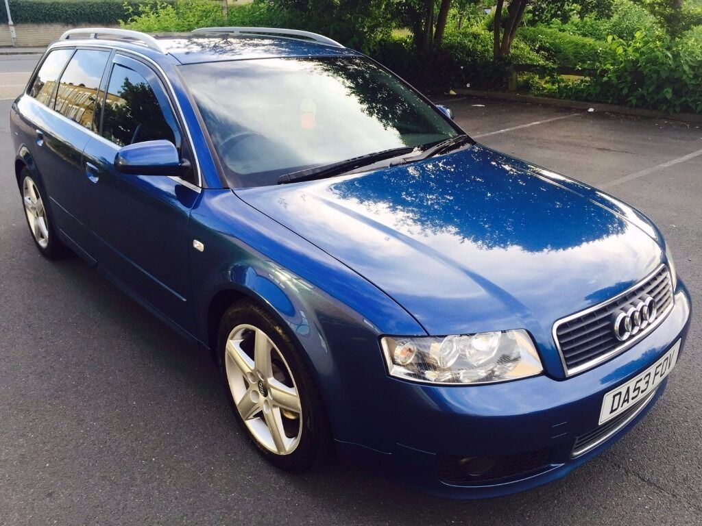 audi a4 2003 sport blue estate avant s line leather interior gmbh in nelson lancashire. Black Bedroom Furniture Sets. Home Design Ideas