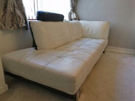 Leather DFS 3 Seater Right Arm Facing Sofa - Quick Sale, Offers Welcome