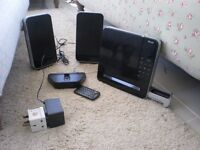 CD MICRO SYSTEM DOCKING STATION IPOD AND REMOTE CONTROL INSTRUCTIONS