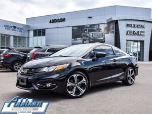 2015 Honda Civic Si GPS, One owner, accident free