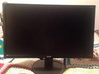 Acer 21.5 inch LED monitor, model K222HQL