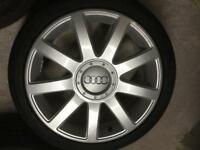 Audi A4 Original fully refurbished alloy wheels