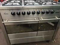 CDA Picasso professional range gas cooker 100 cm... free delivery