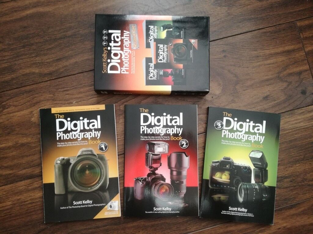 3 Books Set Digital Photography Scott Kelby In Dennistoun
